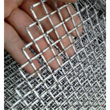 Multimaterial  Crimped Wire Mesh